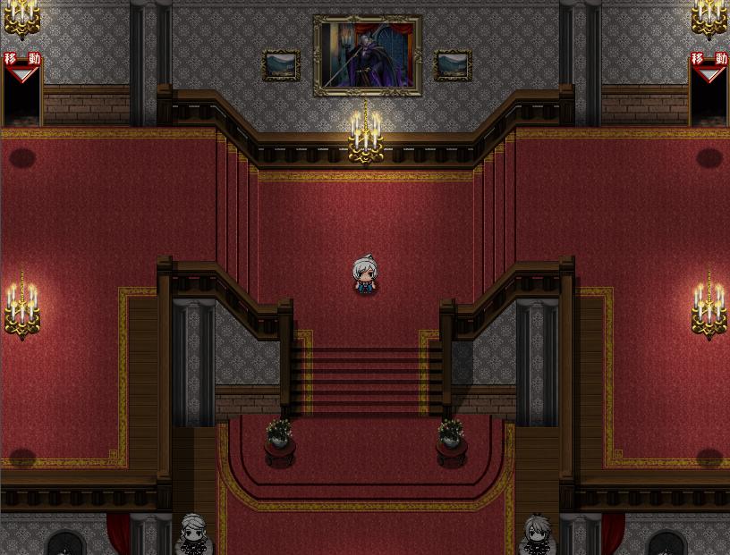 【マップ講座】RPGツクールでホラーチックな洋館マップの作り方【プラグイン】
