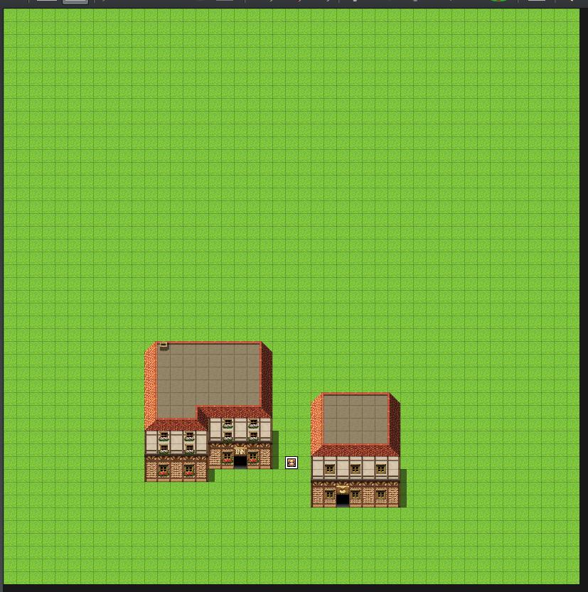 町マップ:大きさ比較