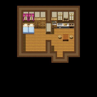 民家内装:小スペース